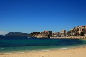 Toulon : plages du mourillon