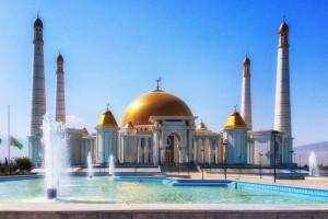 Turkménistan : Mosquée de Gypjak, Ashgabat