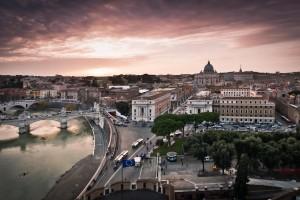 Vatican : Vatican Sunset