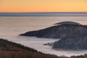 Vosges : Fog