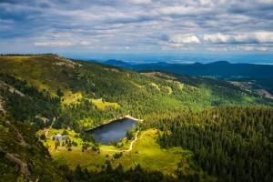 Vosges : Lac du Forlet dans les Vosges