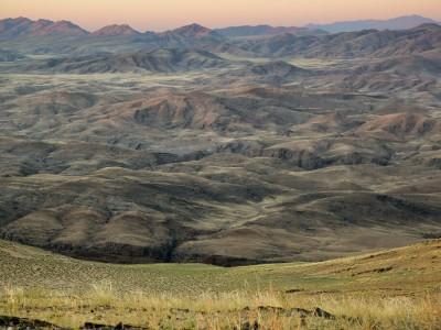 Angola : Angola Mountain Range | Angola & Namibia