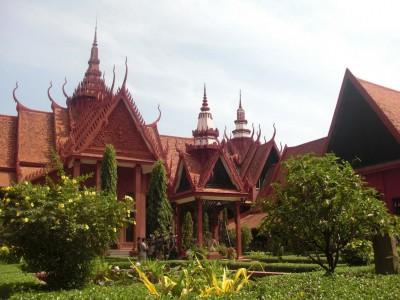 Cambodge : Phnom Penh - National Museum