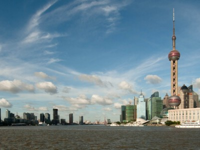Chine : Evening in Pudong (2/2)