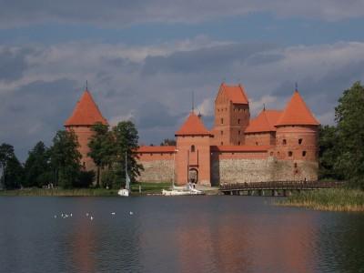 Lituanie : Trakai, Lithuania: Island Castle