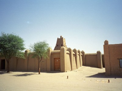 Mali : Sankore Mosque, Timbuktu