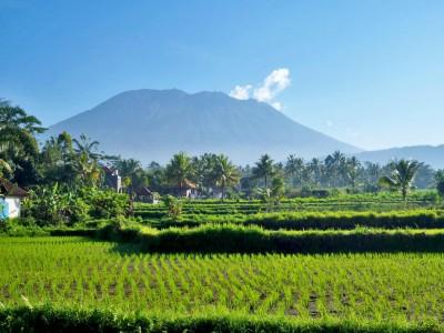 Photo de : Le mont Agung