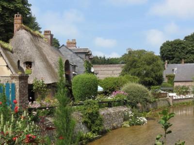 Normandie : Veules- les-Roses en Normandie