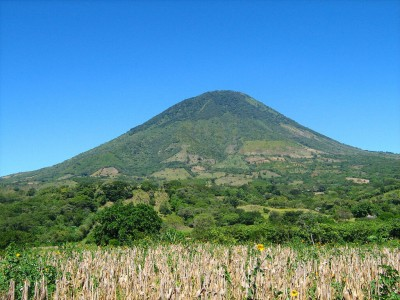 Salvador : El Cerro Chingo - Volcán Apagado (El Salvador, C. A.)