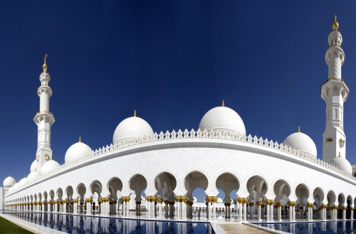 Abu Dhabi : Sheikh Zayed Grand Mosque