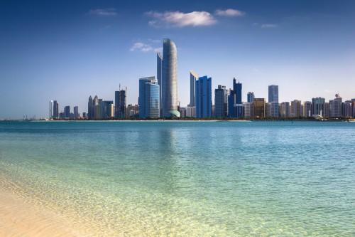 Skyline d'Abu Dhabi