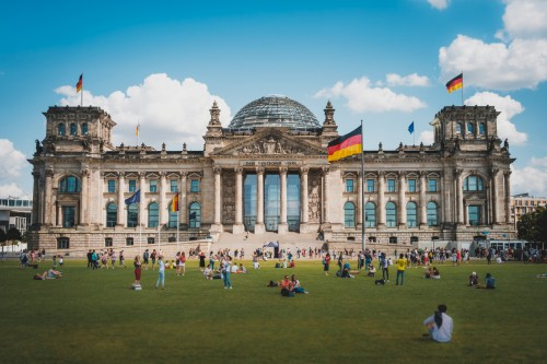 Allemagne : Bâtiment du Reichstag à Berlin