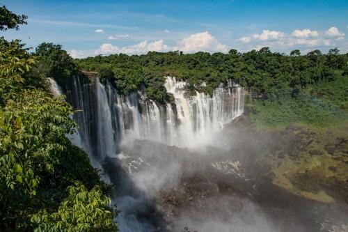 Angola : Chutes de Kalandula
