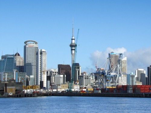 Auckland : The Port Of Auckland