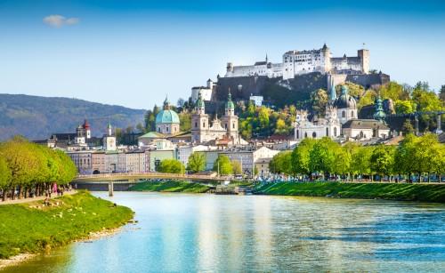 Autriche : Ville historique de Salzbourg