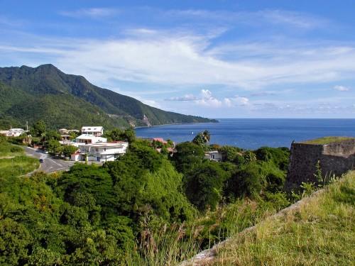 Basse-terre : Guadeloupe (Fort Louis Delgrès à Basse-Terre).