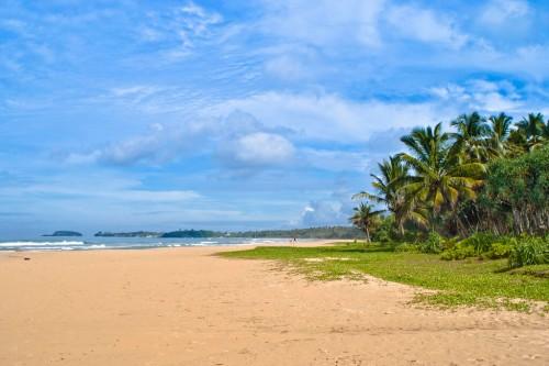 Bentota : Bentota beach