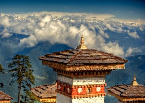 Bhoutan : DochuLa Pass Bhutan