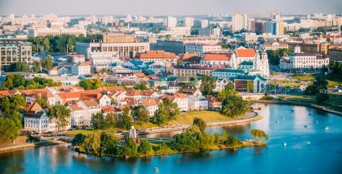 Biélorussie : Minsk en été