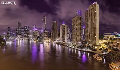 Brisbane (Queensland) : Brisbane at 1am
