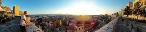 Cagliari : Sunrise sunset.