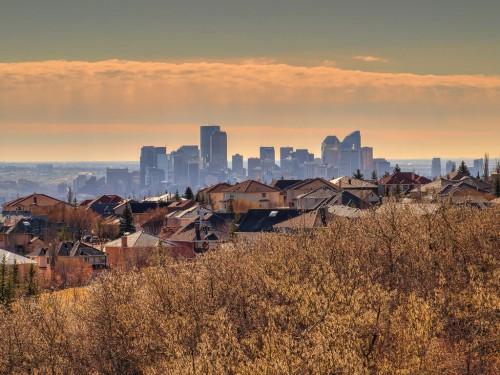 Calgary : Calgary Downtown Skyline