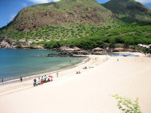 Cap-Vert : La plage de Tarrafal, au nord de Santiago