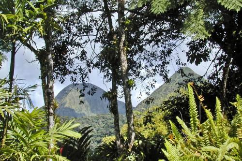 Carbet : Les Pitons du Carbet (Martinique)