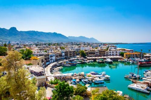 Chypre : Le port de Kyrenia