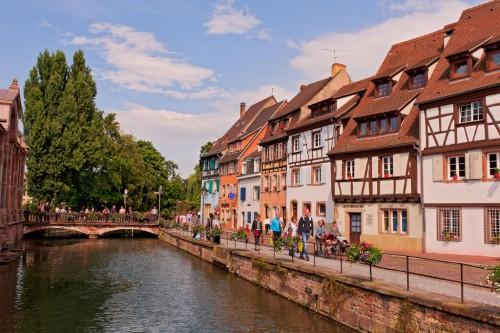 Colmar (Haut-Rhin) : Nice view of Colmar
