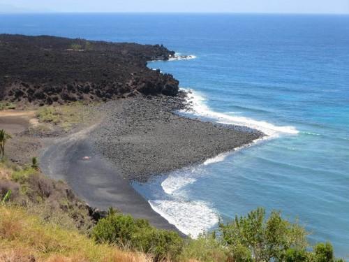 Comores : Lava Flows