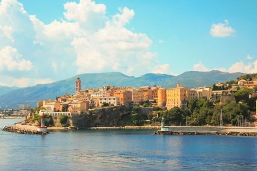 Corse : Vieux port de Bastia, Corse