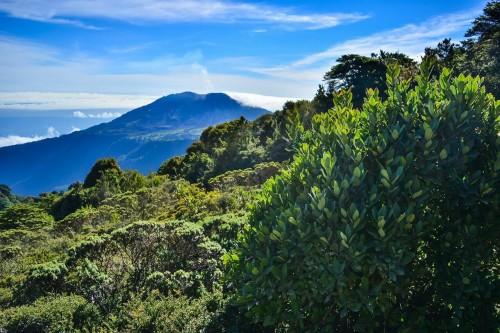 Costa Rica : Le volcan Irazu au Costa Rica