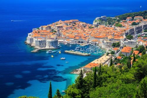 Croatie : La cité fortifiée de Dubrovnik