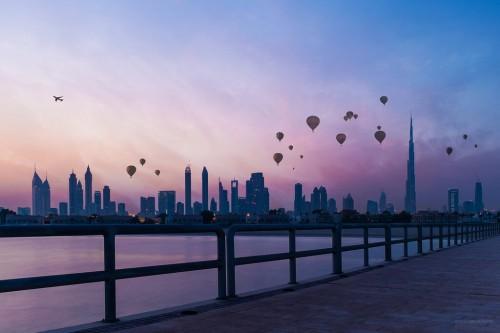 Dubaï : Dubai Skyline