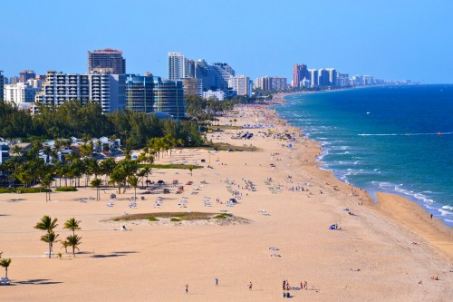 Fort Lauderdale : Beach at Fort Lauderdale