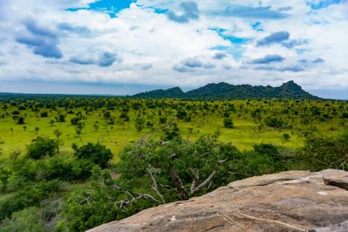 Ghana : Panorama des Plaines au Ghana