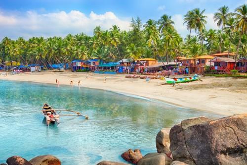 Goa : Plage de Palolem