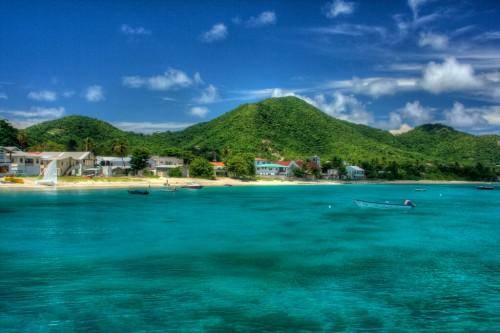 île de Grenade : Approaching Carriacou