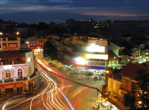 Hanoï : Hanoi at night