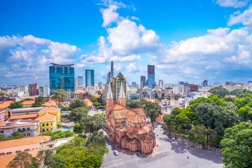 Notre-Dame de Saïgon à Ho Chi Minh Ville