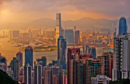 Hong Kong : Hong Kong Sunset