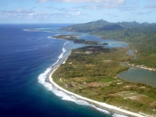 Huahine (archipel de la Société) :