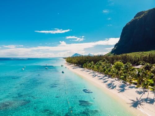 île Maurice : Plage paradisiaque sur l'île Maurice