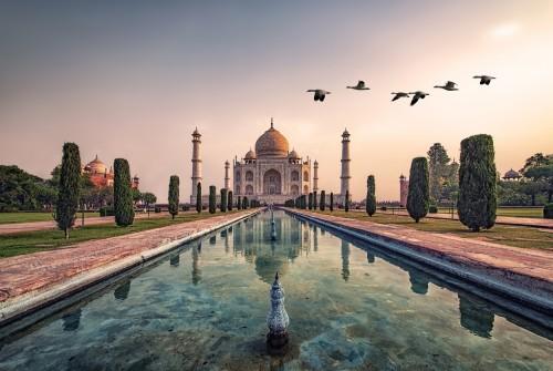Inde : Taj Mahal à Agra