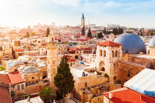 Israël : Vieille ville de Jérusalem
