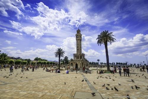 Tour de l'horloge à Izmir