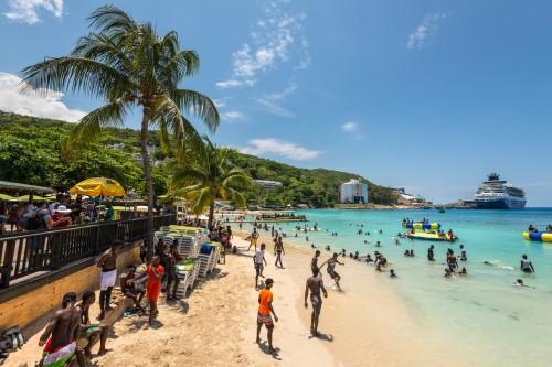 Jamaïque : La plage d'Ocho Rios en Jamaïque