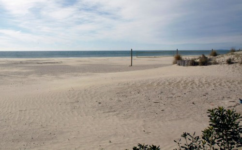 La Grande-Motte : Une plage de la Grande motte