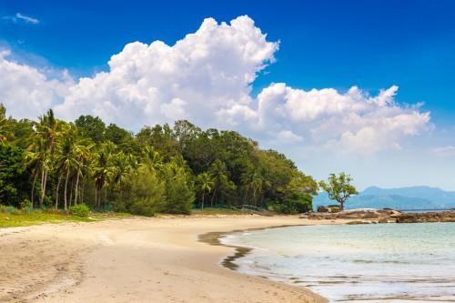 Plage de l'île de Langkawi